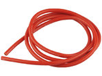 Cable 4 mm² rouge pur silicone, trés résistant 200°C, section 12 AWG YUKI Model 600166