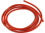 Cable 2 mm² rouge pur silicone, trés résistant 200°C, section 12 AWG