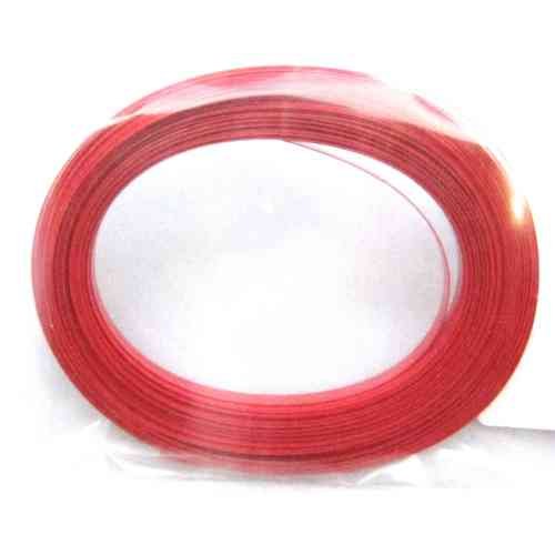 Gaine Thermo 2,5mm 10 mètres rouge PVC Jamara 097585