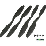 "11"" Kit Drone Props.(11 &11L ) Black GAUI 931101"