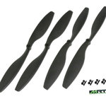 "12"" Kit Drone Props.(12 &12L ) Black GAU931102"