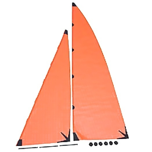 Voile Micro Magic Orange Graupner 2014.5C